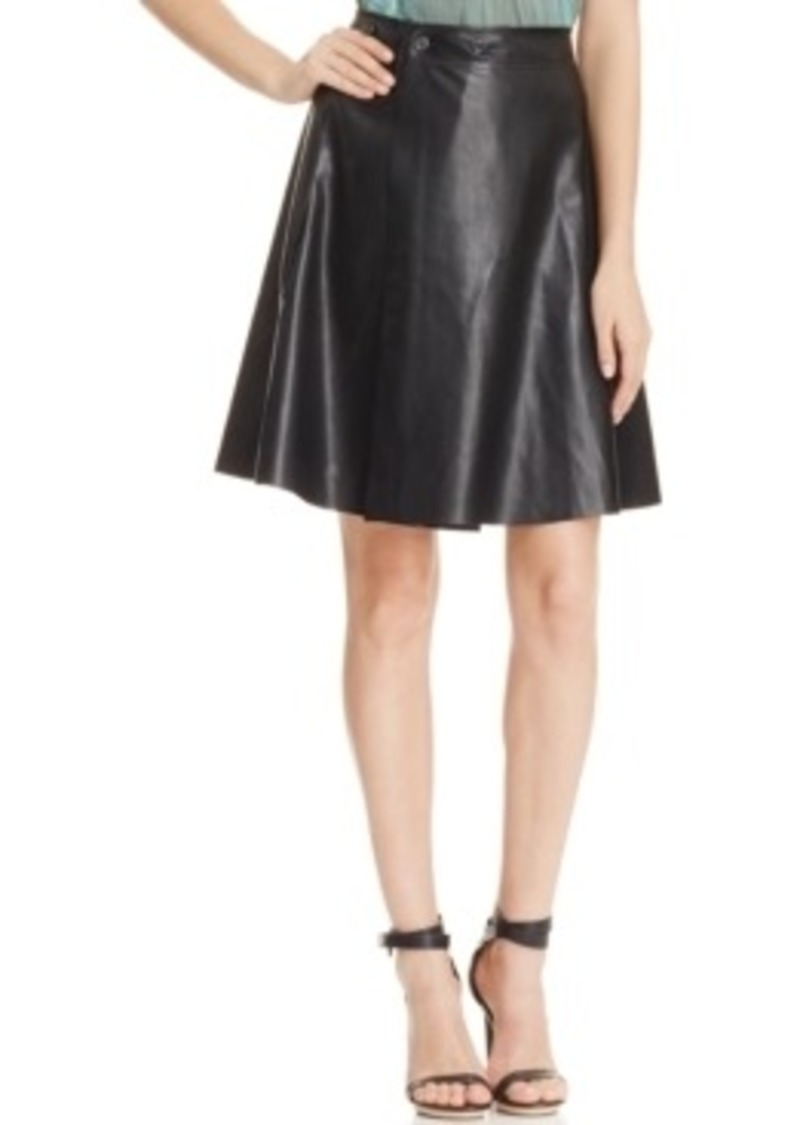 robert rodriguez robert rodriguez flared faux leather