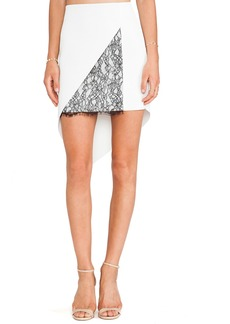 Robert Rodriguez Geo-Lace Skirt