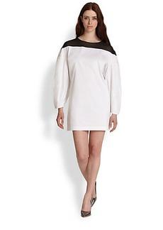 Robert Rodriguez Illusion Yoke Dress