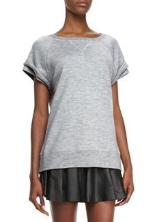 Robert Rodriguez Merino Wool Double-Sleeve Sweatshirt (Stylist Pick!)