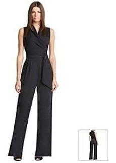 Robert Rodriguez® Solid Tie Front Jumpsuit