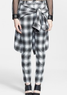 Robert Rodriguez Tartan Pants with Shirt