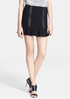 Robert Rodriguez Zip Detail Flounced Skirt
