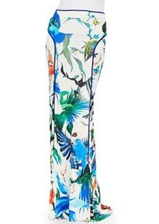 Alize-Print Jersey Maxi Skirt   Alize-Print Jersey Maxi Skirt