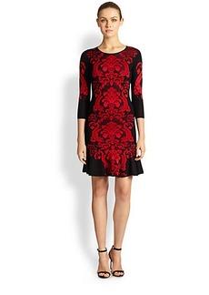 Roberto Cavalli Jacquard Knit Dress
