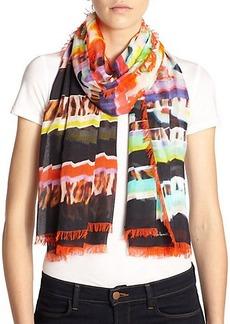 Roberto Cavalli Mixed Prints Modal Pashmina