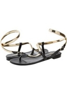 Roberto Cavalli Snake Flat Sandal