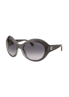 Roberto Cavalli Women's Aladfar Oversized Grey Sunglasses