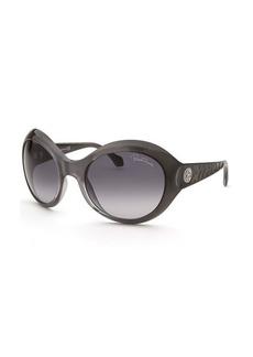 Roberto Cavalli Women's Aladfar Oversized Grey Sunglasses