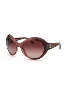 Roberto Cavalli Women's Aladfar Oversized Violet Red Sunglasses