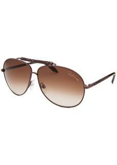 Roberto Cavalli Women's Clematis Aviator Brown Sunglasses