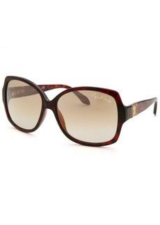 Roberto Cavalli Women's Ginestra Square Tortoise Sunglasses