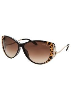 Roberto Cavalli Women's Kandooma Cat Eye Dark Brown Sunglasses