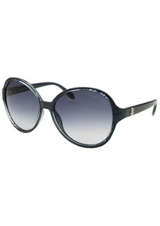 Roberto Cavalli Women's Maria Round Blue Sunglasses