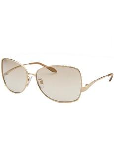 Roberto Cavalli Women's Menta Square Gold-Tone Sunglasses
