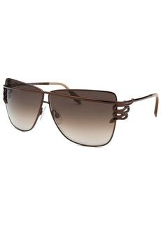 Roberto Cavalli Women's Morane Square Brown Sunglasses