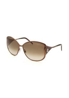 Roberto Cavalli Women's Mughetto Butterfly Bronze-Tone Sunglasses