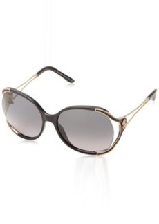 Roberto Cavalli Women's RC669S Injected Oversize Sunglasses
