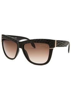 Roberto Cavalli Women's Rea Wayfarer Black Sunglasses