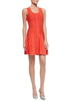 Textured Knit A-Line Tank Dress, Tulip   Textured Knit A-Line Tank Dress, Tulip