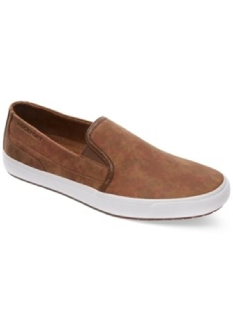 rockport rockport path to greatness casual suede slip on