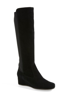 Rockport 'Total Motion' Suede Boot (Wide Calf) (Women)