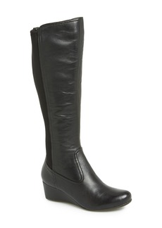 Rockport 'Total Motion' Knee High Wedge Boot (Women)
