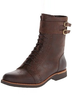Rockport Women's Alanda Brogue Combat Boot