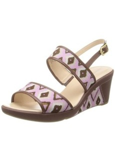 Rockport Women's Emmalina 2 Band Sling Wedge Sandal