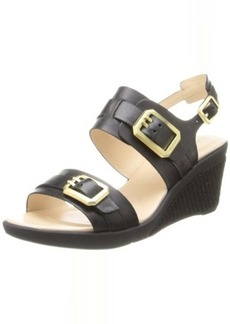 Rockport Women's Emmalina Buckle Anklestrap Wedge Sandal