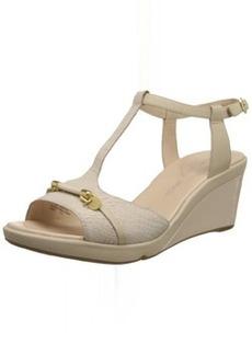 Rockport Women's Emmalina Charm T-Strap Wedge Sandal