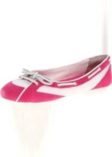 Rockport Women's Etty Laced Boat Ballet Flat