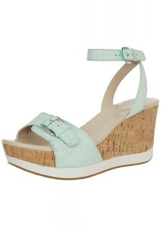 Rockport Women's Talayah Buckle Wedge Sandal