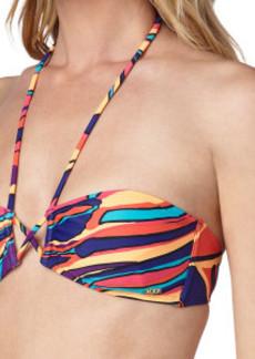 Roxy Brazilian Chic Criss-Cross Bandeau Bikini Top - Women's
