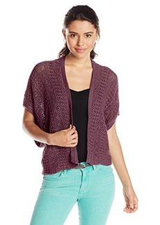 Roxy Juniors Same Old Feeling Short Sleeve Sweater