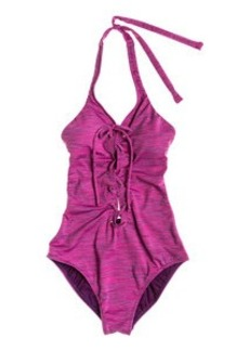 Roxy Road Less Traveled Halter One-Piece Swimsuit - Women's