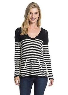 Roxy Women's White Caps Stripe Sweater