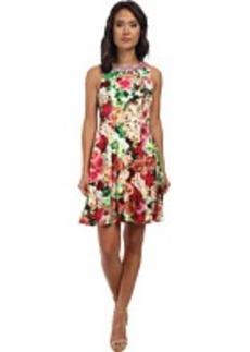 rsvp Floral Jasmine Sleeveless Dress