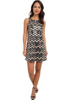 rsvp Iris Chevron Dress