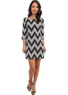 rsvp Sequin Chevron Shift Dress