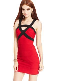 Ruby Rox Juniors' Banded Colorblock Dress