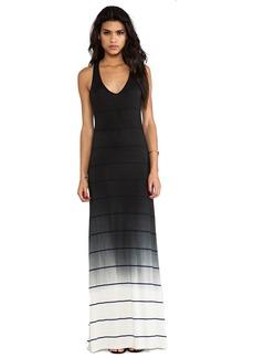 Saint Grace Bryn Ombre Stripe Jersey Dress