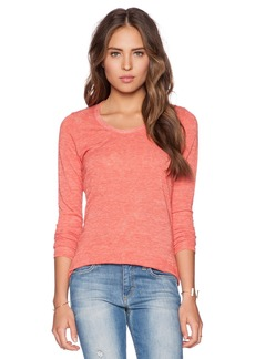 Saint Grace Long Sleeve Scoop Neck Tee