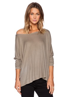 Saint Grace Omega Oversized Long Sleeve Top