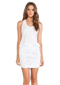 Saint Grace Vida Freedom Wash Dress in White