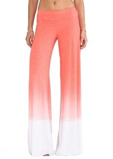 Saint Grace Wide Leg Sunset Jersey Pant