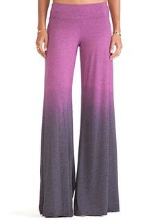 Saint Grace Wide Pant in Purple