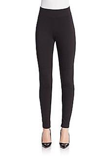Saks Fifth Avenue BLACK Lace-Up Leggings