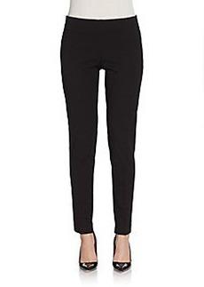 Saks Fifth Avenue BLACK Slim Cut Stretch Pants
