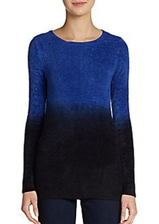 Saks Fifth Avenue BLUE Boatneck Pullover Sweater
